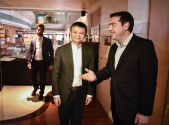 马云与希腊总理大谈旅游 阿里旅行海外战略加速