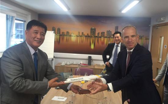 三亚与英国Thomas Cook集团签署合作备忘录  年内开通直飞曼彻斯特旅游航线
