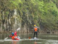 """为""""河""""而来,溯源赤水河生态科学考察漂流活动"""