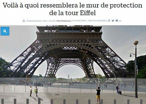 埃菲尔铁塔高空滑索:当地旅游业的一剂强心针?