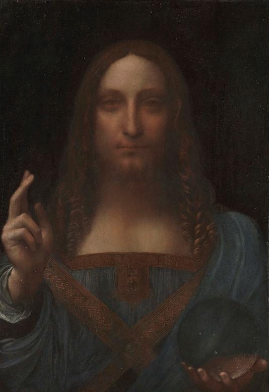 阿布扎比卢浮宫将于9月18日展出达·芬奇的杰作《救世主》
