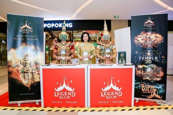 """""""暹罗传奇"""" (Legend Siam) 来华宣传泰国首个泰文化主题公园"""