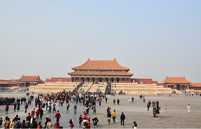 故宫年接待观众首破1700万人次 成为世界参观人数最多博物馆